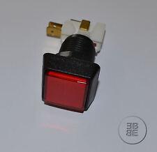 Pulsanti 35 x 35 mm Rosso