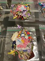 iron on appliques lot 25 Pieces Assorted