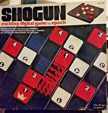 Shogun Digital Board Game By Epoch Playthings 2 Players - 1976 - # 7730