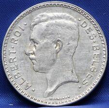 Belgie - Belgium 20 francs 1934 FRA - silver - KM# 103.1
