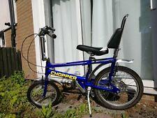 Vintage Raleigh Chopper MK3 Bicycle In Blue