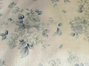 **FRENCH FADED ROSES SOFT BLUES ** LAMPSHADES GORGEOUS COUNTRY STYLE CHIC