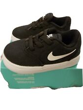 New Baby Nike Sb Check Canvas Trainers Size 3.5