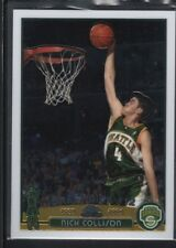 NICK COLLISON 2003/04 TOPPS CHROME #122 RC ROOKIE CARD SONICS SP MINT