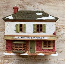 Department 56 Dickens Village Series A Christmas Carol Scrooge & Marley