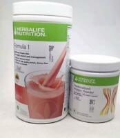 Herbalife Formula 1 Shake For Weight Loss Strawberry & Protein Powder Combo Pack