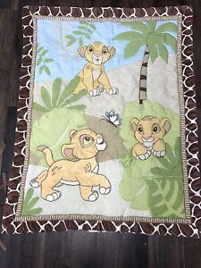 Disney The Lion King Simba Nursery Bedding Set 7 Pieces