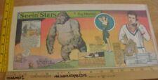 Adele Mara Richard Greene Seein' Stars Feg Murray 1940s Sunday color panel 2j