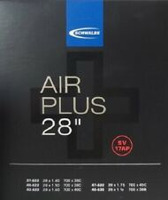 "Schwalbe Fahrradschlauch SV Ventil Air Plus 28"" 40 mm Black SV17 AP"