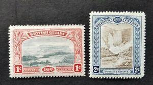 British Guiana SG216 &217 MH/HR