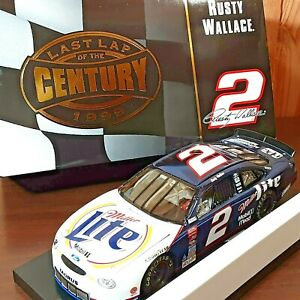 Rusty Wallace #2 Miller Lite Ford Taurus Limited Action 1:24 Diecast NASCAR Bank