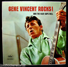 GENE VINCENT & HIS BLUE CAPS-Gene Vincent Rocks!-Rockabilly Album-CAPITOL #T-970