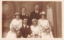 Wedding - Bride, Groom and Bridesmaids etc - Real Photo by Aldridge, Hythe, Kent