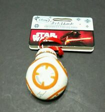 Disney Store The Force Awakens Star Wars BB-8 Robot Christmas Ornament Figure