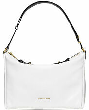 Michael Kors Chelsey White Large Convertible Shoulder Bag Leather $478 - NWT