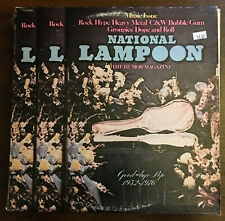 National Lampoon Music Issue Good-Bye Pop Epic PE 33956 1975 Bill Murray