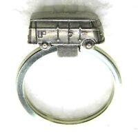 VW Bus T1 - Metall-Schlüsselanhänger - NEU