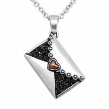 """You Always And Forever"""" By Controse Heart Necklace Love Letter Message """"I Love"""