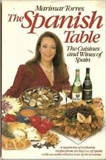 Marimar Torres~THE SPANISH TABLE~SIGNED~1ST/DJ~NICE COPY