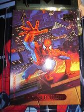 CARTE MARVEL MASTERPIECES GOLD FOIL SERIES 1994 N° 115 SPIDER-MAN MINT BASE CARD