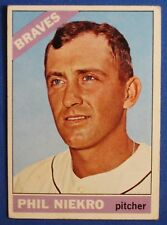 1966 TOPPS PHIL NIEKRO #28 ATLANTA BRAVES PITCHER