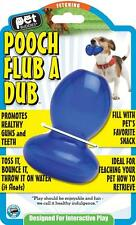 Pet Buddies Rubber Ball Floating Fetch Treat Dispenser Toy  - Pooch Flub a Dub