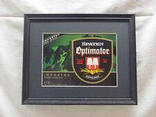 SPATEN OPTIMATOR DOPPLEBOCK    BEER SIGN  #808