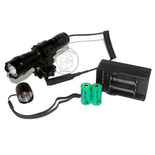 UltraFire 501B CR123A Xenon 7.4V Tactical Flashlight Torch + Battery Charger Set