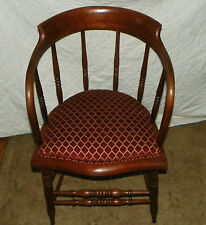 Oak Firehouse Armchair / Captain Chair  (AC70)
