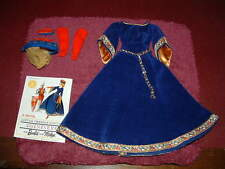 "BARBIE Vintage Guinevere ""LITTLE THEATRE COSTUME"" TAGGED 1964 #873 RARE Mint Set"