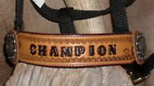 Custom MINI Pony Halter, Your Ponies Name, Award...G&E