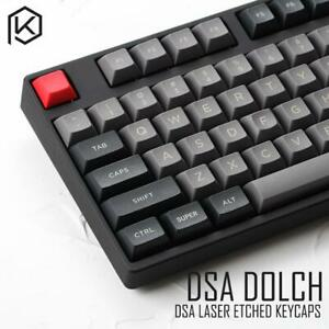 DSA PBT TOP PRINTED LEGENDS DOLCH KEYCAPS LASER ETCHED ALL IN ONE