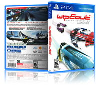Wipeout Omega Collection - ReplacementPS4 Cover and Case. NO GAME!!