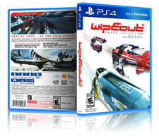 Wipeout Omega Collection - Replacement PS4 Cover and Case. NO GAME!!