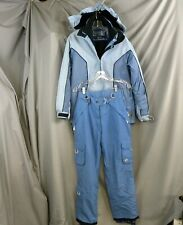 Women's Powder Room 5000m Snowboard Ski Suit Jacket with Inside Jacket Pant Sz S