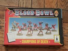 Blood Bowl Champions of Death Undead Bloodbowl Team Games Workshop