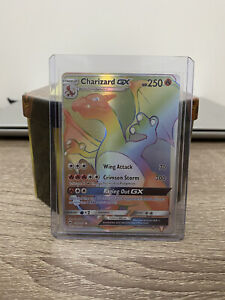 Pokemon Charizard GX 150/147 Burning Shadows Full Art Secret Rare LP