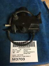 03 F250 SD Turbo Diesel Electric Drive Vaccum Pump Under Inner Fender 53032373AB