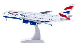 1:400 Hogan BRITISH AIRWAYS AIRBUS A380 Passenger Airplane Diecast Plane Model