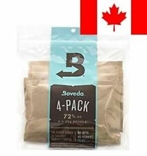 Boveda 72% RH 2 Way Humidity Control, Large, 60g, 4 Pack