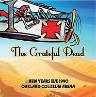 GRATEFUL DEAD - NEW YEARS EVE 1990 OAKLAND COLISEUM ARENA  3 CD NEW+