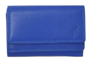 Ladies Women RFID Safe Real Leather Clutch Wallet Purse With ID Coin Pocket 5545