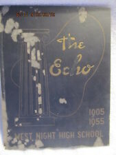 1955 Yearbook West Night High School Cincinnati 50th Anniversary HTF No Writing