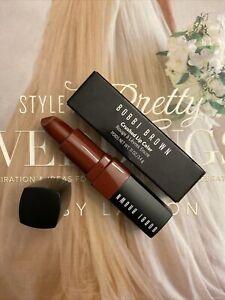 Bobbi Brown Crushed Lip Color Lipstick Full Size .11 oz. RUBY BNIB AUTHENTIC