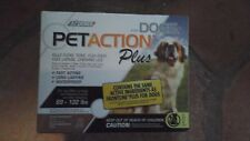 Pet Action Plus Flea & Tick Drops for XL Dogs 89-132 lbs 3mo supply free ship