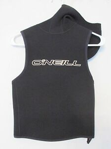 O'Neill Men's/Women's Scuba Diving Hood Top Black & White Size Large L in EUC