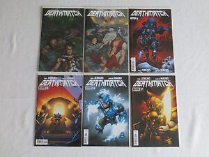 DeathMatch 2-6 Boom Comics VF/NM