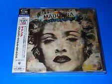 2017 JAPAN SHM MADONNA CELEBRATION CD ALL TIME BEST 18 TRACKS