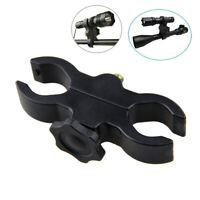 Torch Laser Rifle Scope Light Clamp Dual Holes Mount Holder for Flashlight Sight