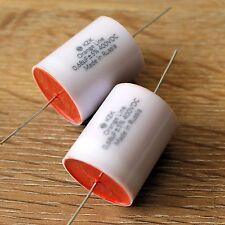 KZK Orange Line 680nF 0.68uF 400V 5% High End PP Film Tin Foil Caps for Audio